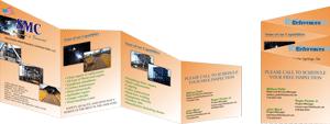 die cut brochures printing