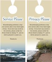 privacy please door hangers printing