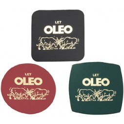 Cheap Leather Coasters Printing